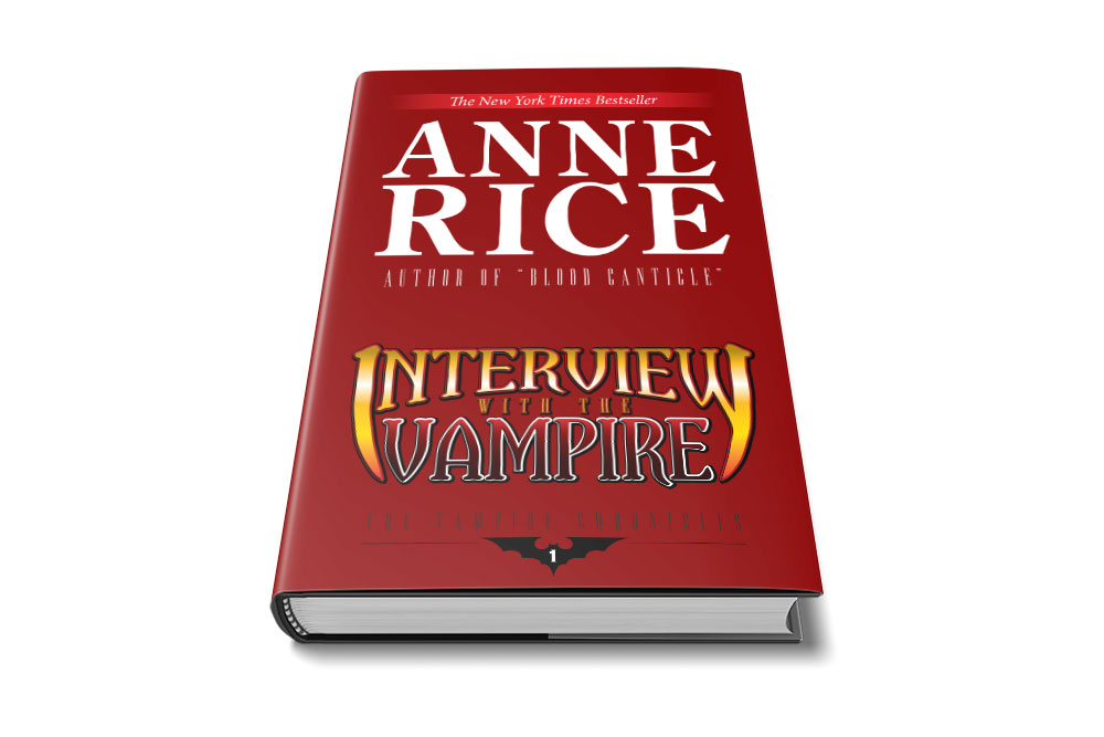 interview with the vampire dust jacket mock up