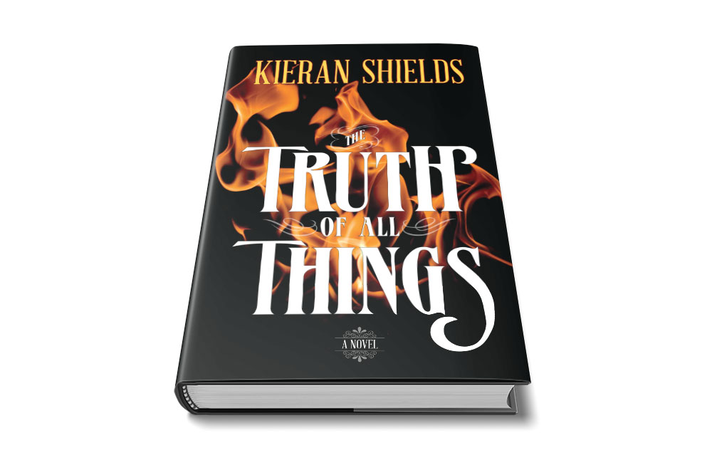 the truth of all things dust jacket mock up